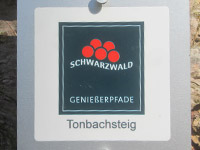 Markierung Tonbachsteig