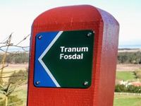 Markierung Tranum-Fosdal