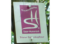 Markierung Trierer Galgenkopftour