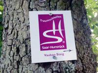 Markierung Vauban-Steig