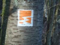 Markierung Vier-Berge-Tour