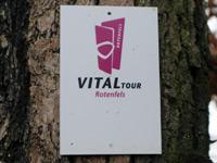 Markierung VitalTour Rotenfels