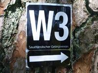Markierung Westfelder Antoniussteig