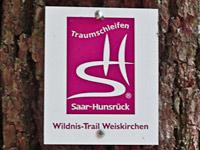 Markierung Wildnis-Trail Weiskirchen