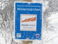 Markierung Wintermärchen