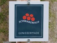 Markierung Wolfacher Schlossblick
