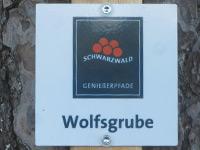 Markierung Wolfsgrube